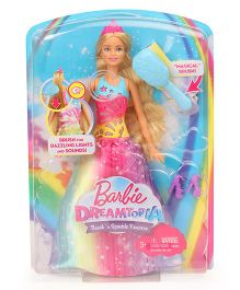 Barbie Dreamtopia Brush N Sparkle Princess Doll - Pink