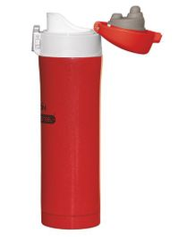 Milton Dazzle Thermosteel Double Wall Insulated Sports Bottle Red - 440 ml