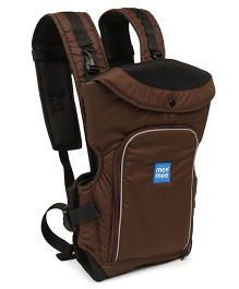 Mee Mee 6 in 1 Cuddle Up Baby Carrier - Brown