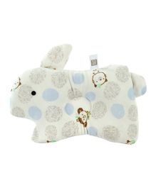 Mee Mee Bunny Shaped Pillow - Blue White