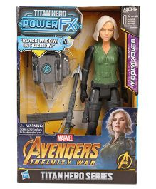 Hasbro Marvel Avengers Black Widow Figure With FX Pack - Green