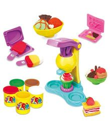 Toyshine DIY Ice Cream Clay Play Set (Design & Colour May Vary)