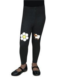 D'Chica Chic And Funky Leggings - Black