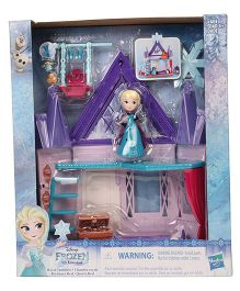 Disney Frozen Royal Chamber Little Kingdom Playset - Multi Colour
