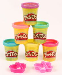 Play Doh Sparkle Compound Collection Pack Of 6 - Multicolour