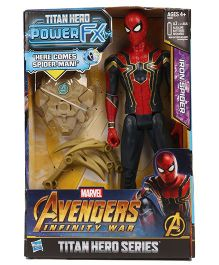 Avengers Infinity War Titan Heroes Series Iron Spider Man Red - 29.5 cm