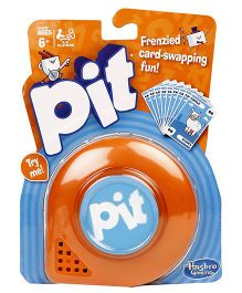 Hasbro Pit Classic Game - Orange
