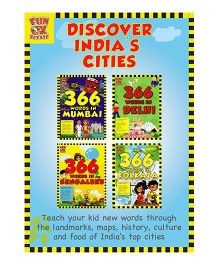 366 Words in Mumbai Delhi Kolkata & Bengaluru Pack of 4 Books - English