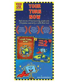 Your Turn Now Story Book by Lubaina Bandukwala Pack of 2 - English