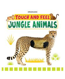 Touch and Feel Jungle Animals Book - English