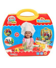 Imagician Playthings My Kitchen Playset Yellow - 26 Pieces