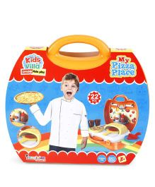 Imagician Playthings My Pizza Place Yellow - 22 Pieces