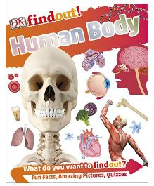 DK Human Body Find Facts General Knowledge Book - English
