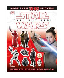 DK Star Wars The Last Jedi Ultimate Sticker Collection Book - English