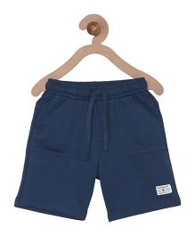 Campana Boys Pull-On Shorts - Navy Blue