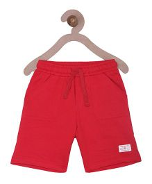 Campana Boys Pull-On Shorts - Red
