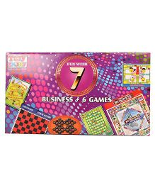 Toyenjoy 7 In 1 Fun Games - Multi Colour