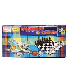 Toyenjoy 2 In 1 Business & Chess Games - Multi Colour