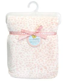 Piccolo Bambino Mink Stroller Blanket - Pink
