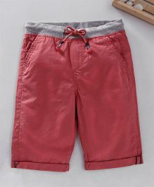 Spring Bunny Plain Solid Colour Shorts - Pink