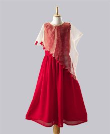 Tickles 4 U Cape Gown - Red