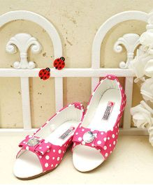 D'Chica Just Too Chic Peep Toes - Pink