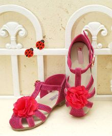 D'Chica All For Stylish Sandals - Fuschia