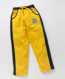 JusCubs Boys Track Pants - Yellow