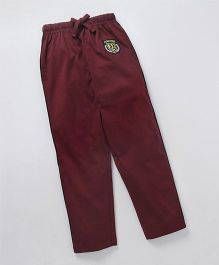 JusCubs Boys Fashion Track Pants  -Maroon