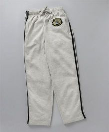 JusCubs Boys Fashion Track Pants  - Lt-Grey Melange