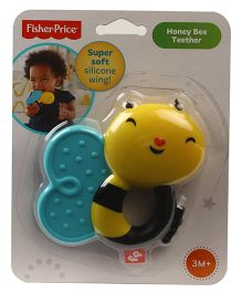 Fisher Price Honey Bee Rattle Teether - Yellow