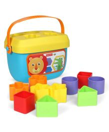 Fisher Price Baby's First Blocks Refresh Multicolor - 10 Blocks