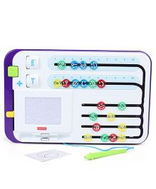 Fisher Price Math Center Learning Toy - Purple