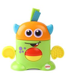 Fisher Price Tote Monster Toy - Green