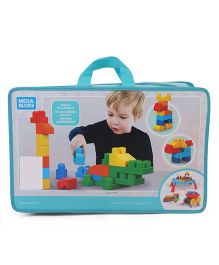 Mega Bloks Deluxe Building Bag Multicolor - 150 Pieces