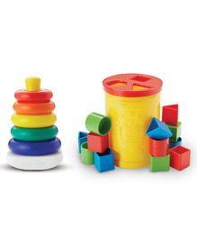 Fisher Price 2 in 1 Infant Starter Pack - Multicolor