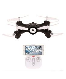 Toyhouse Syma X23W Indoor RC Drone With Camera - Black