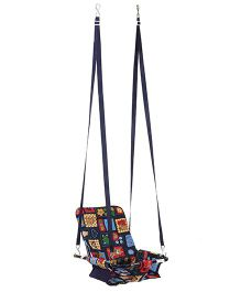 Mothertouch 2 In 1 Swing Multiprint - Navy Blue
