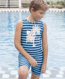 PINEHILL Halfsuit Swimwear - Blue
