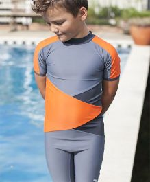 PINEHILL Halfsuit Swimwear - Orange