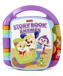 Fisher Price Storybook Rhymes Musical Toy - Purple