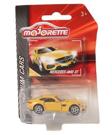 Majorette Premium Mercedes AMG GT Toy Car - Yellow