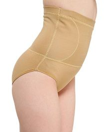 Aaram High Waist Firm Compression Reshaping Panty - Beige