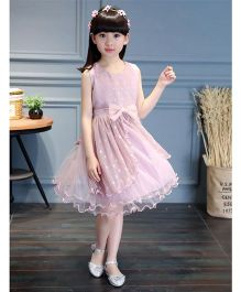 Pre Order - Awabox Pretty Netted Dress - Pink