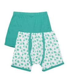 Claesens Holland Boxers Pack Of 2 - Green