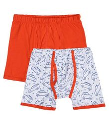 Claesens Holland Boxer Pack Of 2 - Orange
