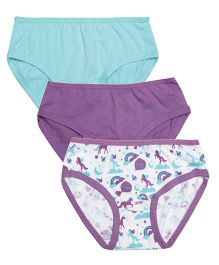 Claesens Holland Panty Pack Of 3 - Purple