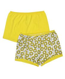 Claesens Holland Bloomers Pack Of 2 - Yellow