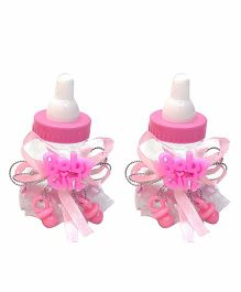 Funcart Fillable Baby Shower Party Favours Pack of 2 - Pink