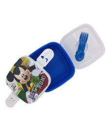 Funcart  Mickey Mouse Lets Run Print Lunch Box - Blue